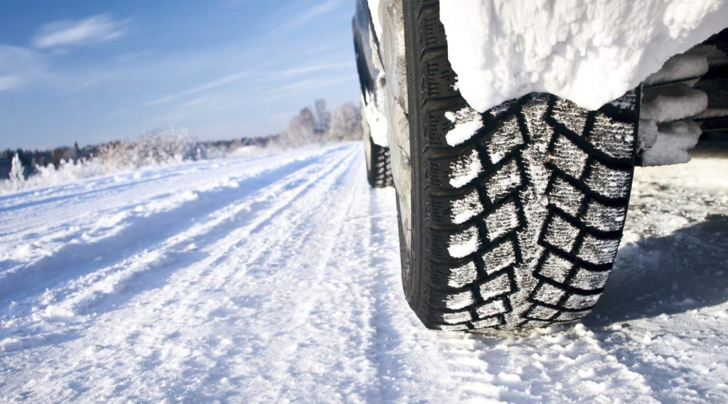 snow tires boost traction
